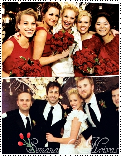 Katherine heigl wedding bouquet