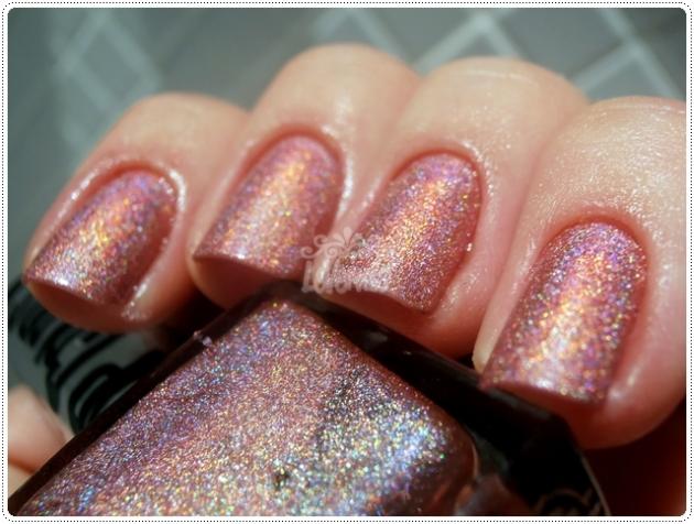Brilho Rosa Up Colors Holográficos