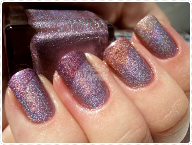 Laser Lilás Up Colors Holográficos Comparação