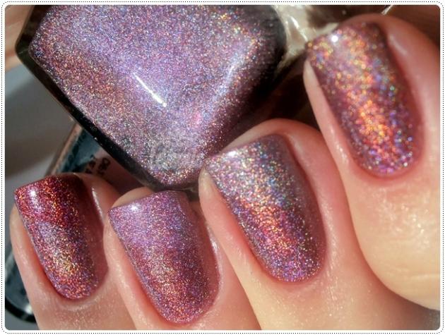 Multi Magenta Up Colors Holográficos Comparação 2