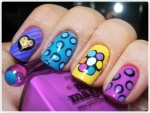 Romero Britto Nail Art