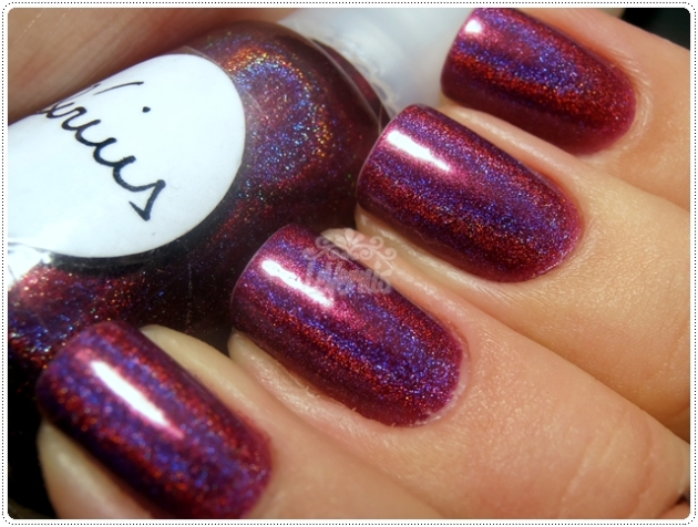 Sirius by Kelly SpectraFlair Franken Misturinha Holográfica DS Exclusive Dupe'