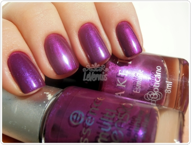Dress to Party (Essence) X Sparkling Grape (O Boticário)