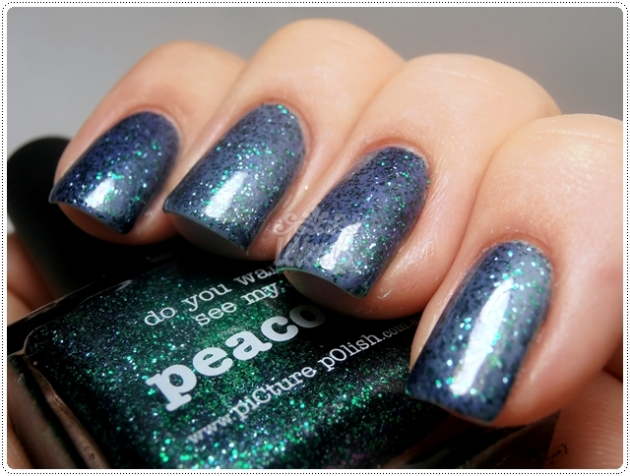 Jade & Peacock -piCture pOlish
