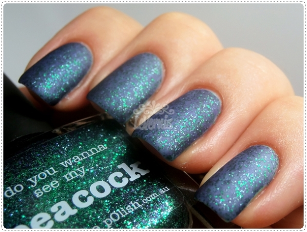 Jade & Peacock -piCture pOlish Matte