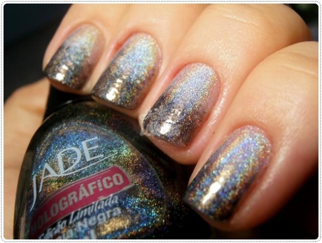 Gradient Nails Jade Psicodélica Magia Degradê