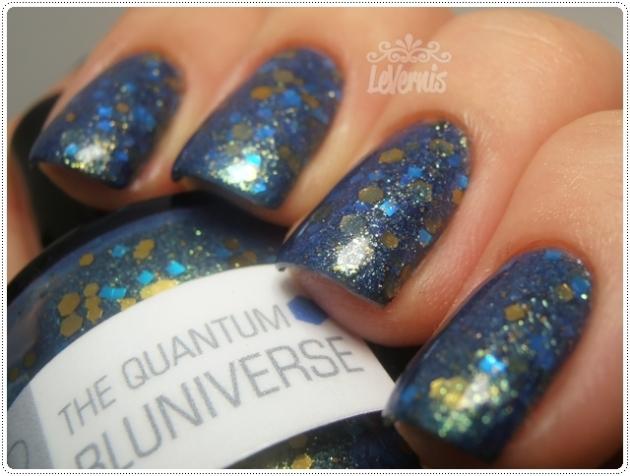 The Quantum Bluniverse Nerdlacquer