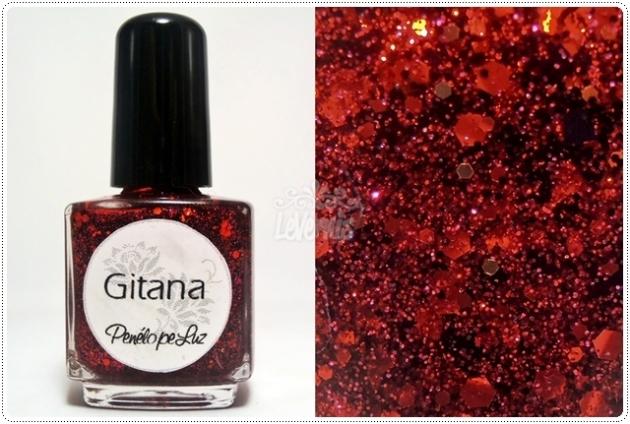Gitana by Penelope Luz Glitter Esmalte Artesanal