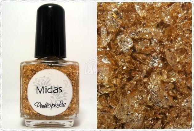 Midas by Penelope Luz Glitter Esmalte Artesanal