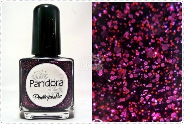 Pandora by Penelope Luz Glitter Esmalte Artesanal