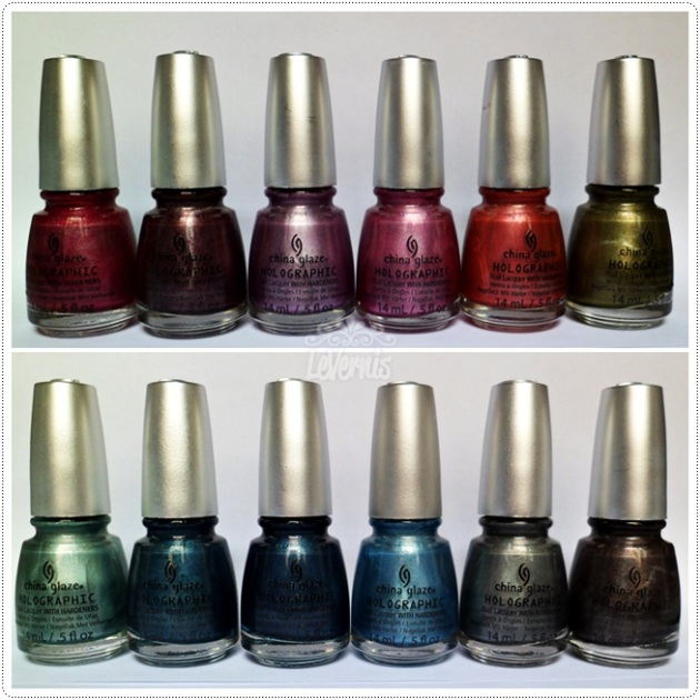 china glaze hologlam 2013