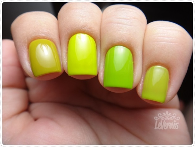 Comparação - Colorama Retângulo Verde - Essence LOL - China Glaze Def Defying - Impala Pistache (2)