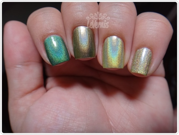 Comparações - Nubar Reclaim + China Glaze OMG A UFO + China Glaze - L8R G8R + Rivka Vanessa (2)
