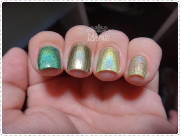 Comparações - Nubar Reclaim + China Glaze OMG A UFO + China Glaze - L8R G8R + Rivka Vanessa (3)